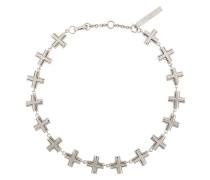 Halskette mit Kreuz-Motiven