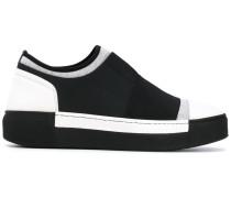 Sneakers in Colou-Block-Optik