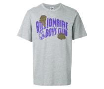 damaged logo print T-shirt
