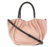 Kleine Handtasche mit Raffung
