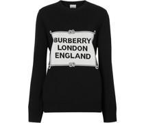 'Rigging' Intarsien-Pullover