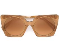 Sonnenbrille mit rechteckigem Gestell - women