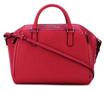 - Handtasche mit Logo-Schild - women - PVC