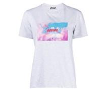 Sport-T-Shirt mit grafischem Print