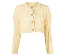 Naomi cropped knitted cardigan