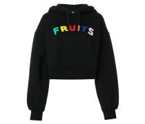 Fruits hooded sweatshirt