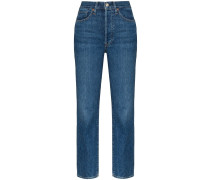 Taillenhohe 'Claudia' Skinny-Jeans
