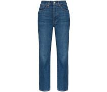 Taillenhohe 'Claudia' Skinny-Jeans