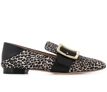 Loafer mit Leoparden-Print