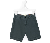 Chino-Shorts mit Logo-Patch - kids