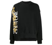 Sweatshirt mit Barockmuster