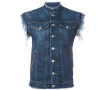 - Jeansjacke mit angeschnittenen Ärmeln - women