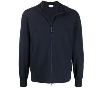 zip-fastening lightweight jacket