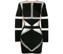 Geometrisches Mini-Kleid