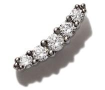 18kt Schwarzgoldohrring mit Diamanten