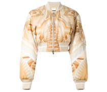 'Stargate' printed bomber jacket