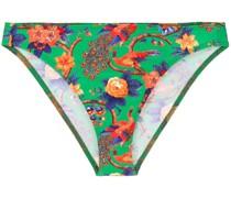 'Pavone Verde' Bikinihöschen