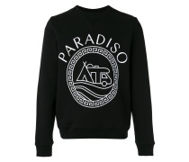 "Sweatshirt mit ""Paradiso""-Print"