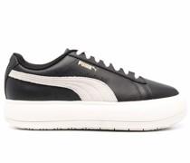 Mayú Sneakers mit Wildledereinsatz