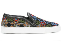 - Slip-On-Sneakers mit geometrischem Muster - men