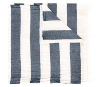 - Schal mit Querstreifen - men - Baumwolle