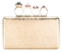 'Knuckle' Clutch - women - Messing/glass