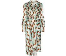 Kleid mit geometrischem Print