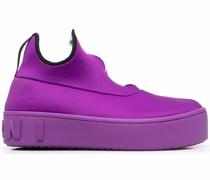 Sock-Sneakers mit dicker Sohle