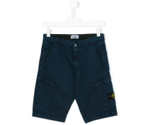 - Cargo-Shorts mit Logo-Patch - kids