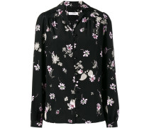 'Flowers Fall' Seidenbluse