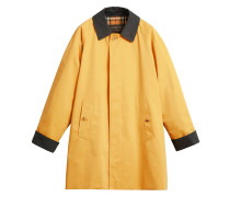 Mantel aus Gabardine