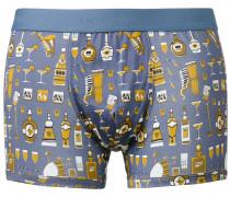 jazz club print boxer shorts