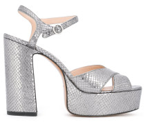 Sandalen aus Leder - women - Kalbsleder/Leder
