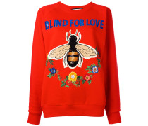 - 'Blind for Love' Sweatshirt - women - Baumwolle