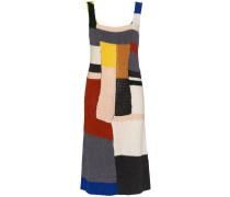 Strickkleid in Colour-Block-Optik