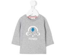 Sweatshirt mit Kopfhörer-Print