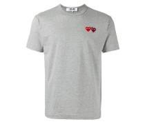 T-Shirt mit Herz-Stickerei - men - Baumwolle - L
