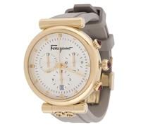 'Ora' Armbanduhr mit Gancini-Detail