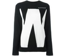 "Sweatshirt mit ""W""-Print"