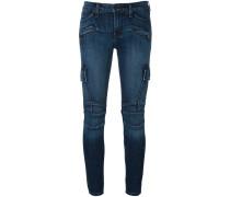 'Colby' Skinny-Jeans im Biker-Look