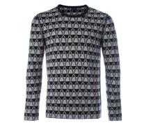 Pullover mit Chevronmuster