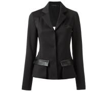 panelled blazer - women