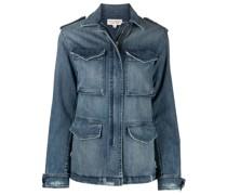 Jeansjacke mit mehreren Taschen