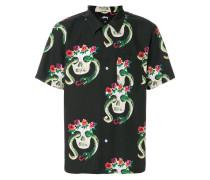 Hemd mit Totenkopf-Muster