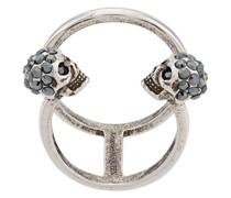 'Twin Skull' Ring