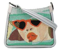 'Starry' Handtasche mit Perlen