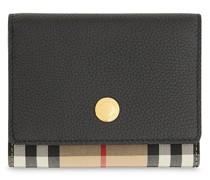 Kleines Portemonnaie mit Vintage-Check