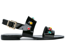 Sandalen mit Stern-Nieten - women - rubber - 36