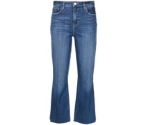 Ausgestellte Kendra Cropped-Jeans