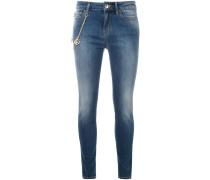 Skinny-Jeans mit Kette - women